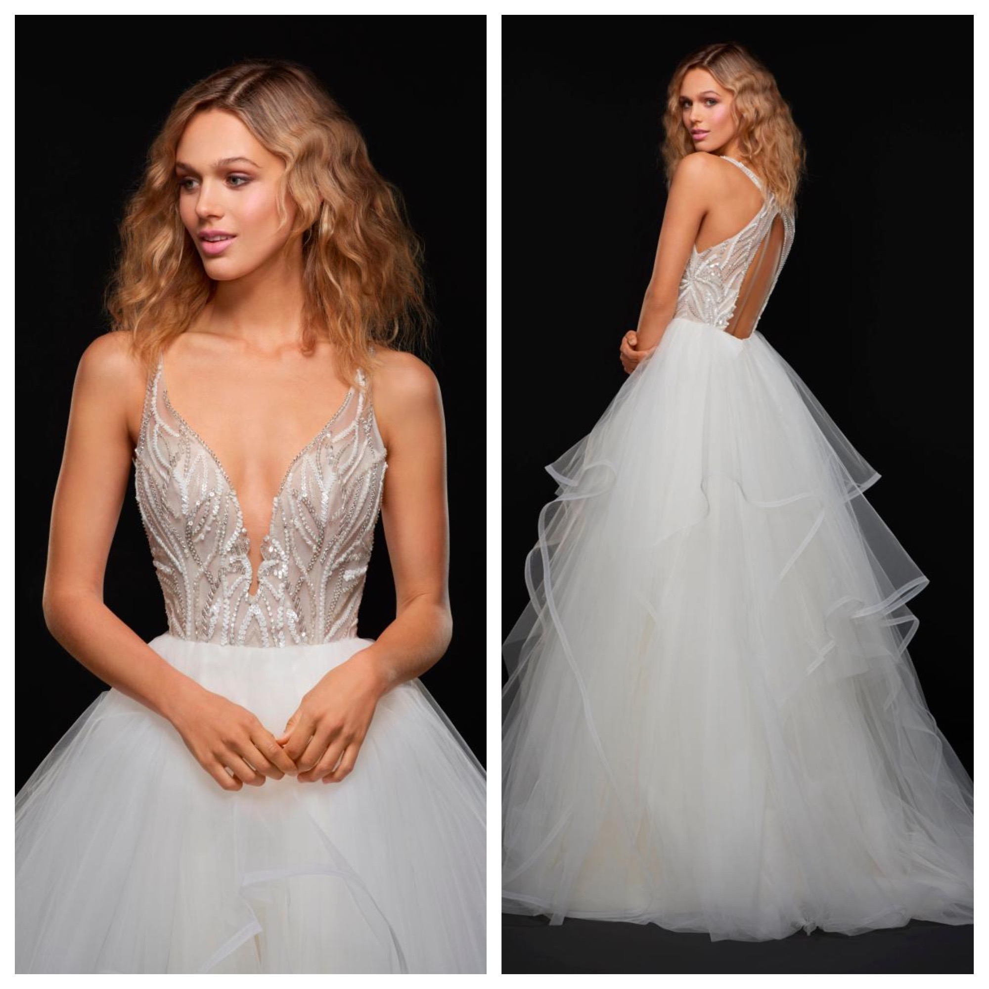 868aca95a340 For brides who know and love Hayley Paige the Lincoln gown is an absolute  must try! With it's signature HP sparkle, full skirt and open back Lincoln  is ...