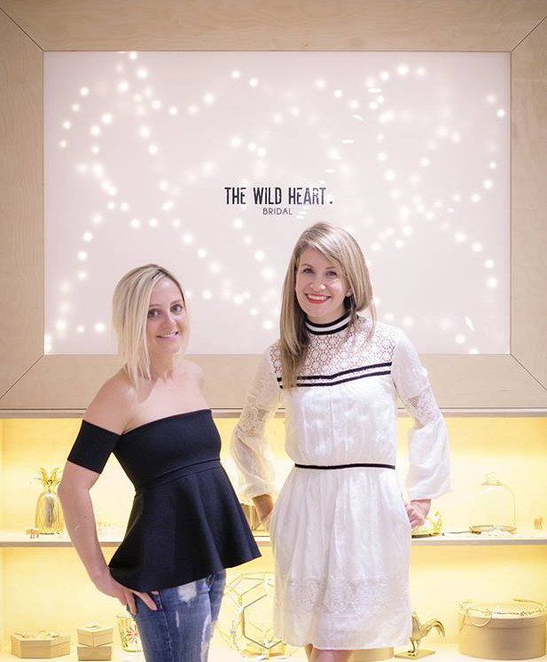 Wild Heart Bridal owners Alexandra Smith and Nicole Smith
